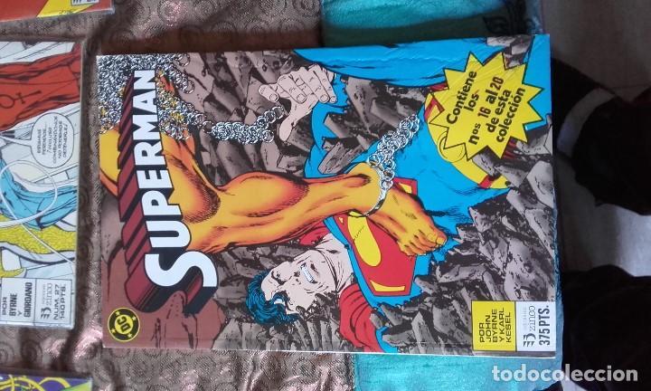 Cómics: Superman vol. 2, 15 números de Zinco + tomo retapado - Foto 4 - 164904134