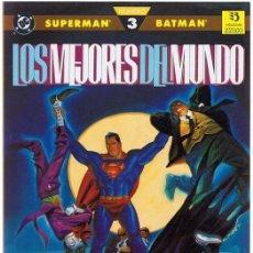 Cómics: LOS MEJORES DEL MUNDO SUPERMAN & BATMAN Nº 3 . Lote 165189966