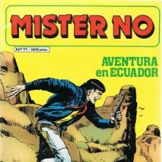 Cómics: MISTER NO AVENTURA EN ECUADOR Nº 11. Lote 165192706