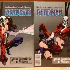 Cómics: DEADMAN AMOR DESPUÉS DE LA MUERTE 1 Y 2 COMPLETA MIKE BARON KELLEY JONES ¡IMPECABLES!. Lote 165233070