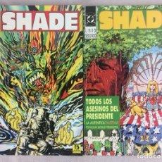 Cómics: SHADE ZINCO 2 NÚMEROS COMPLETA. Lote 165244130