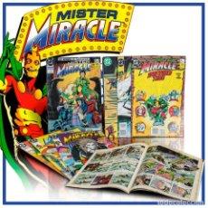Cómics: PACK MISTER MIRACLE. (COMPLETA) 8 CÓMICS - VARIOS AUTORES DESCATALOGADO!!! OFERTA!!!. Lote 165537478