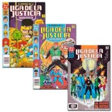 Cómics: PACK LIGA DE LA JUSTICIA. 3 CÓMICS - DAN JURGENS Y OTROS DESCATALOGADO!!! OFERTA!!!. Lote 165540806