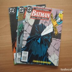 Cómics: BATMAN Nº 33, 34, 35 - LAS MUCHAS MUERTES DE BATMAN COMPLETA - JOHN BYRNE & JIM APARO. Lote 165544322