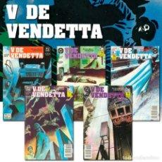 Cómics: PACK V DE VENDETTA. 5 CÓMICS - ALAN MOORE/DAVID LLOYD DESCATALOGADO!!! OFERTA!!!. Lote 175776760