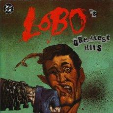 Cómics: LOBO. GREATEST HITS - EDICIONES ZINCO / NÚMERO ÚNICO. Lote 165668390