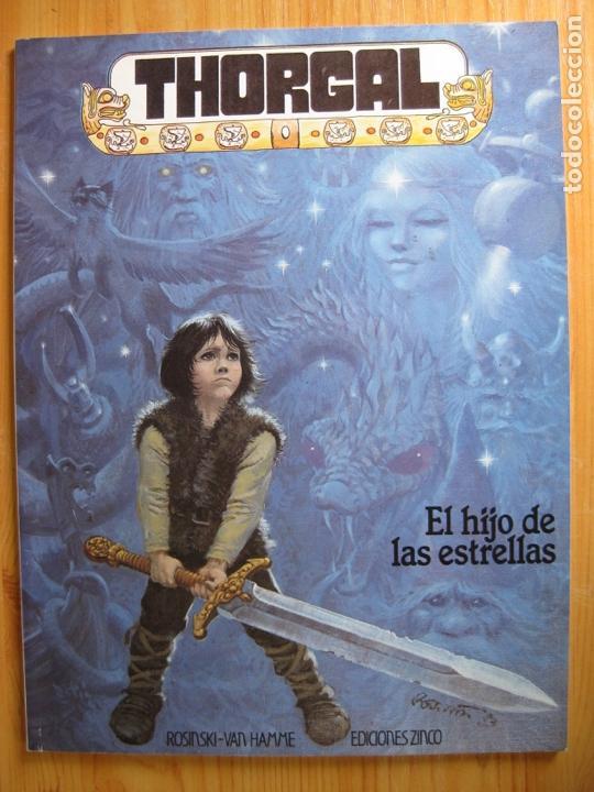 THORGAL. EL HIJO DE LAS ESTRELLAS - ZINCO (Tebeos y Comics - Zinco - Otros)