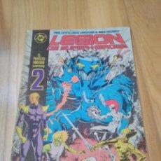 Cómics: COMIC DC ZINCO LA LEGION DE SUPER HEROES SUPERHEROES Nº 2. Lote 165879202