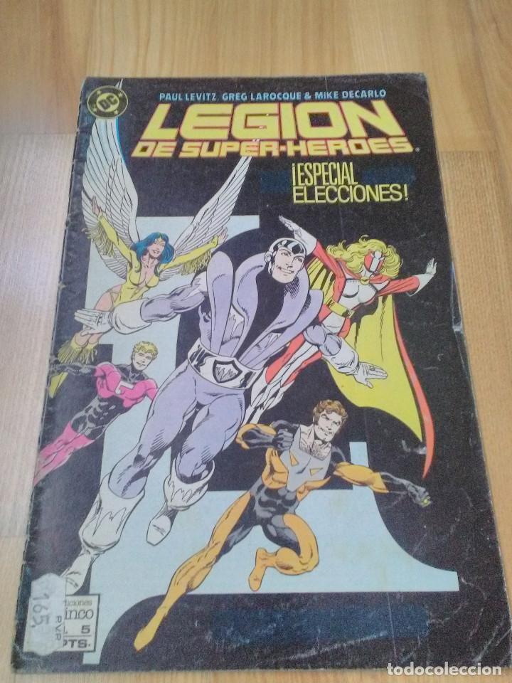 COMIC DC ZINCO LA LEGION DE SUPER HEROES SUPERHEROES Nº 5 (Tebeos y Comics - Zinco - Legión 91)