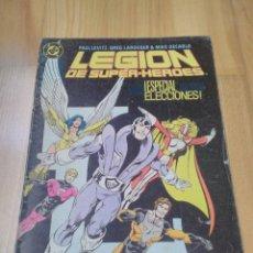 Cómics: COMIC DC ZINCO LA LEGION DE SUPER HEROES SUPERHEROES Nº 5. Lote 165879442