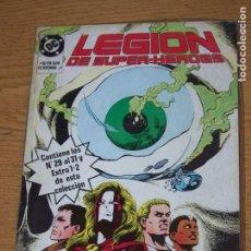 Comics: RETAPADO LEGION SUPERHEROES 29/31 Y EXTRAS 1 Y 2. Lote 165948134