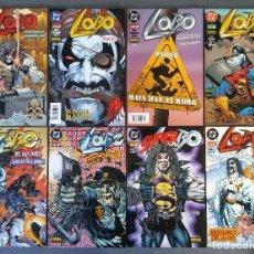 Cómics: LOTE COMICS LOBO DC NORMA EDITORIAL. Lote 166127634