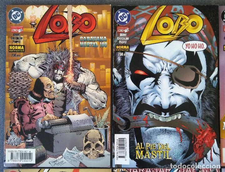 Cómics: Lote comics Lobo DC Norma Editorial - Foto 2 - 188692795