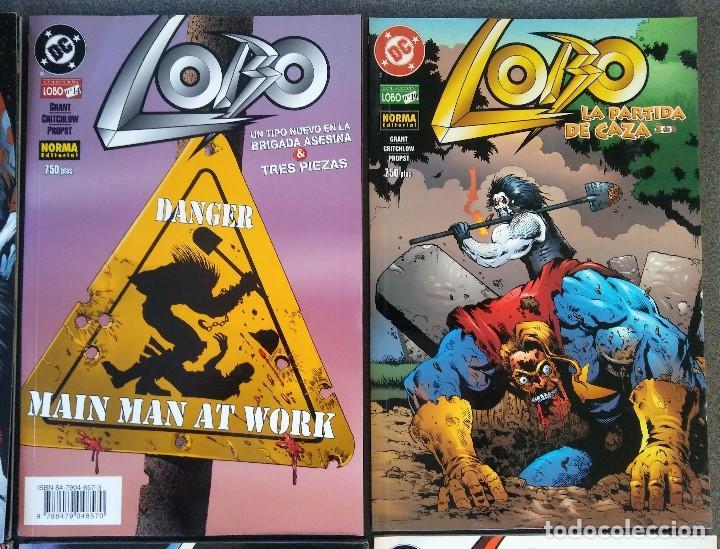 Cómics: Lote comics Lobo DC Norma Editorial - Foto 3 - 188692795