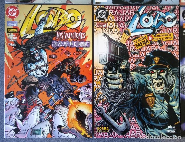 Cómics: Lote comics Lobo DC Norma Editorial - Foto 4 - 188692795