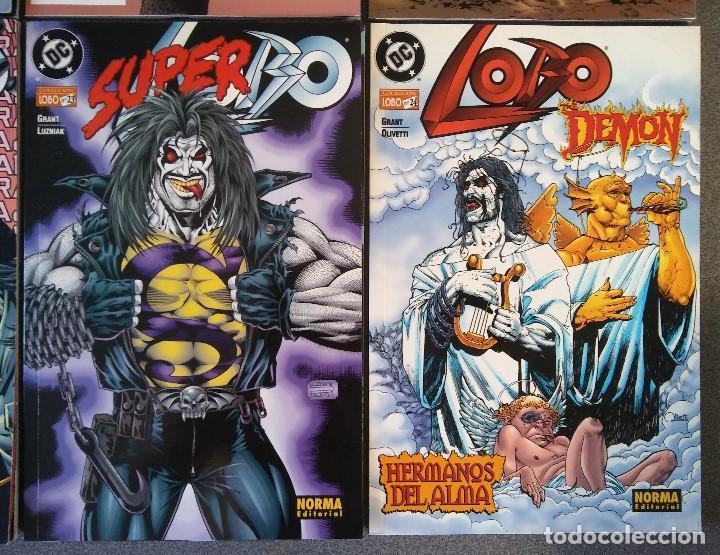 Cómics: Lote comics Lobo DC Norma Editorial - Foto 5 - 188692795
