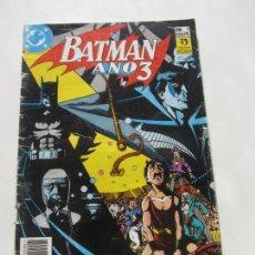 Cómics: BATMAN AÑO 3 Nº 1 (ZINCO) C8. Lote 166551818