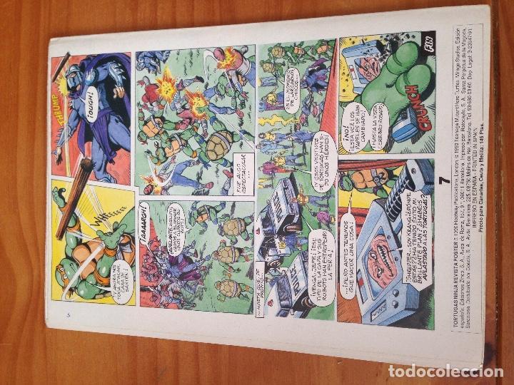 Cómics: REVISTA PÓSTER TORTUGAS NINJA 1-4 - Foto 7 - 166600466
