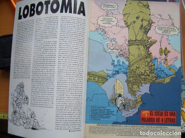 Cómics: LOBOS BACK #2 (EDICIONES ZINCO, 1993) - Foto 2 - 189073728