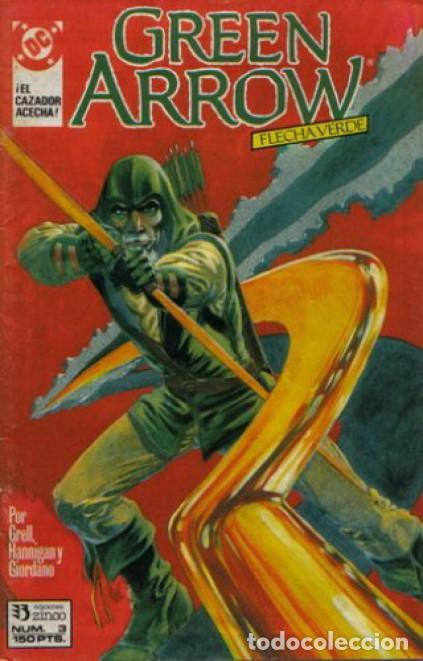 GREEN ARROW #3, ZINCO, 1.989 (Tebeos y Comics - Zinco - Otros)