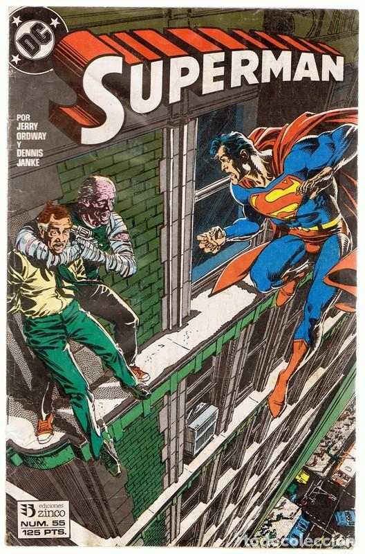 SUPERMAN Nº 55 (Tebeos y Comics - Zinco - Superman)