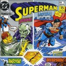Comics: SUPERMAN VOL. 2 ESPECIAL Nº 7 PRIMAVERA - ZINCO - MUY BUEN ESTADO. Lote 167401316