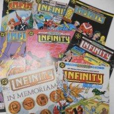 Cómics: LOTE DE 8 CÓMCIS DE INFINITY INC - DC. ZINCO. Lote 167445192