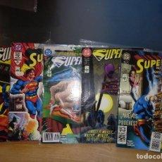 Cómics: SUPERMAN EDITORIAL VID. LOTE DE 6 NÚMEROS. NÚMEROS 253, 287, 288, 302, LA MUERTE DE MX..... Lote 167537208