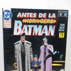 Cómics: BATMAN - ANTES DE LA HORA CERO. Lote 167556668