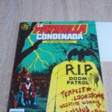 Cómics: LA PATRULLA CONDENADA (DOOM PATROL). VOL-1 Nº 5. ZINCO. Lote 167578280