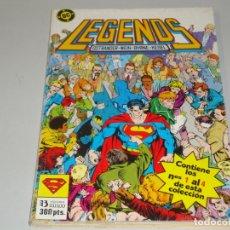 Cómics: LEGENDS DEL 1 AL 4. Lote 167579996