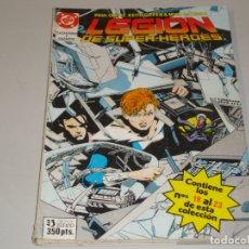 Cómics: LEGION DE SUPERHEROES DEL 19 AL 23. Lote 167580620