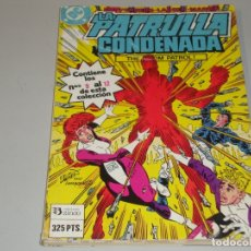 Cómics: LA PATRULLA CONDENADA DEL 9 AL 12. Lote 167580740