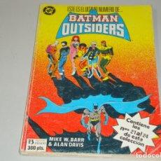 Comics: BATMAN Y LOS OUTSIDERS DEL 21 AL 24. Lote 167580836