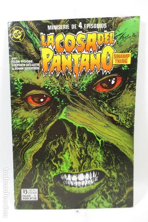 LA COSA DEL PANTANO (ALAN MOORE) 1 DE 4 (Tebeos y Comics - Zinco - Cosa del Pantano)