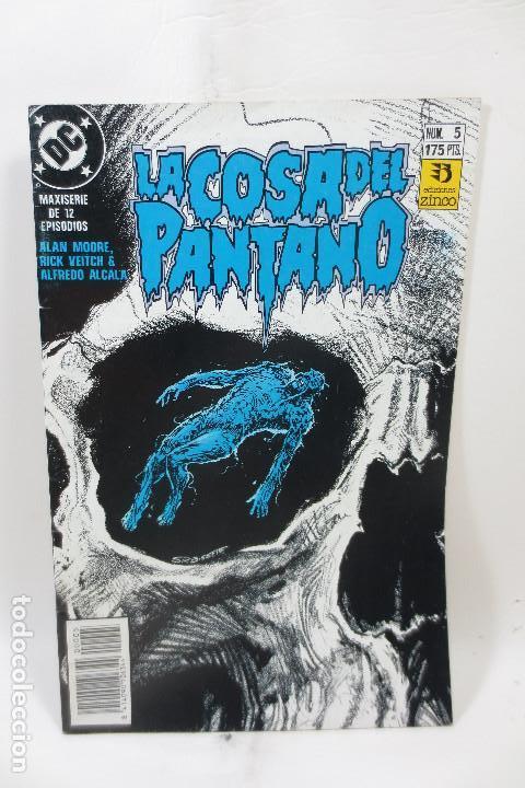 LA COSA DEL PANTANO (ALAN MOORE) 5 DE 12 (Tebeos y Comics - Zinco - Cosa del Pantano)