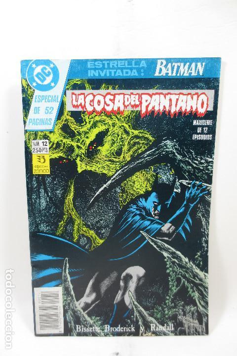 LA COSA DEL PANTANO (ALAN MOORE) 12 DE 12 (Tebeos y Comics - Zinco - Cosa del Pantano)