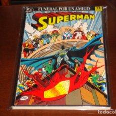 Cómics: SUPERMAN FUNERAL POR UN AMIGO. Lote 167720696