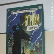 Cómics: BATMAN GOTHAM LUZ DE GAS - ZINCO - OCASION. Lote 206478488