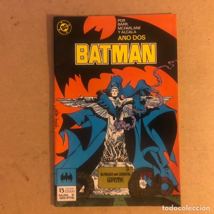 BATMAN N°5 (POR BARR, MCFARLANE Y ALCALÁ, AÑO DOS). DC COMICS, EDICIONES ZINCO, 1986. (Tebeos y Comics - Zinco - Batman)