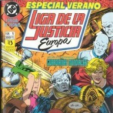 Cómics: LIGA DE LA JUSTICIA EUROPA ESPECIAL VERANO Nº 1 - ZINCO - BUEN ESTADO. Lote 167910988