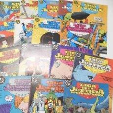 Comics: LOTE 16 NÚMEROS DE LIGA DE LA JUSTICIA / LIGA DE LA JUSTICIA INTERNACIONAL. Lote 167955452