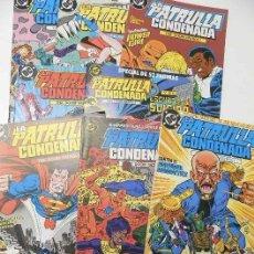 Cómics: LOTE 8 NÚMEROS DE LA PATRULLA CONDENADA. Lote 167956568