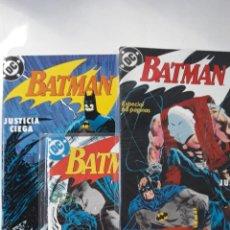 Cómics: BATMAN: JUSTICIA CIEGA (COMPLETA, 3 NÚMEROS). Lote 168202376