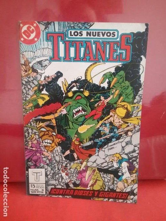 NUEVOS TITANES 8 SEGUNDA EDICIÓN # (Tebeos y Comics - Zinco - Nuevos Titanes)