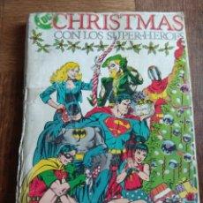 Cómics: SUPERMAN, RETAPADO: CHRISTMAS CON LOS SUPERHEROES Nº 1 & 2, SUPERMAN & SWAMP THING ALAN MOORE, 172PS. Lote 168469860