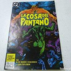Comics : LA COSA DEL PANTANO - NUMERO 3 - EDICIONES ZINCO -N. Lote 168492104
