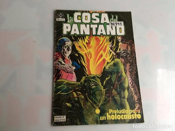 LA COSA DEL PANTANO Nº 9 - 1ª SERIE -ED. EDICIONES ZINCO AÑOS 80 (Tebeos y Comics - Zinco - Cosa del Pantano)