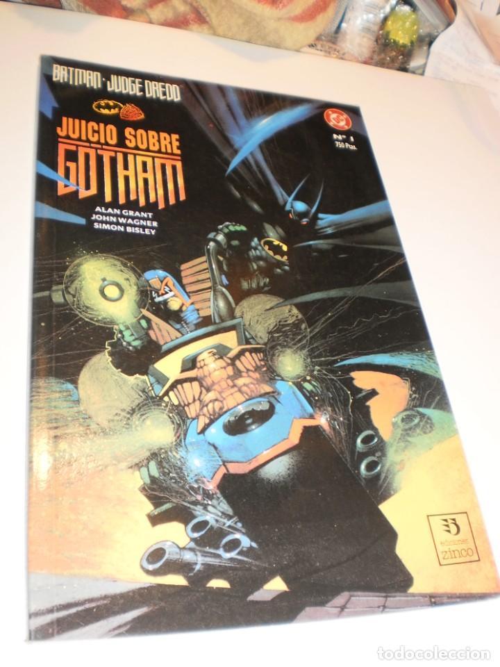 BATMAN JUDGE DREDD. JUICIO SOBRE GOTHAM Nº 1 (SEMINUEVO) (Tebeos y Comics - Zinco - Batman)