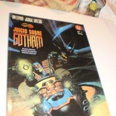 Cómics: BATMAN JUDGE DREDD. JUICIO SOBRE GOTHAM Nº 1 (SEMINUEVO). Lote 168632552